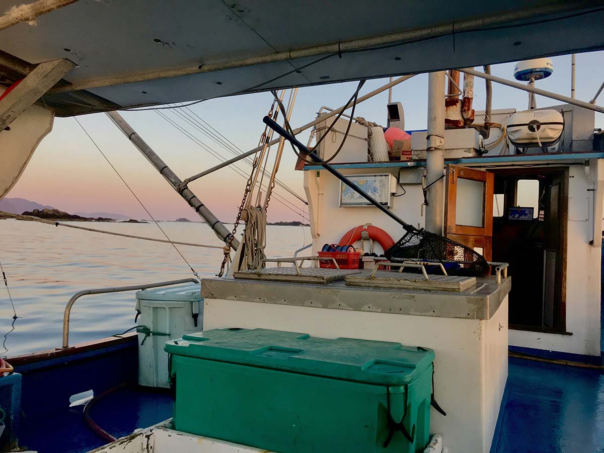 Natural Gift Seafoods - fishing boat