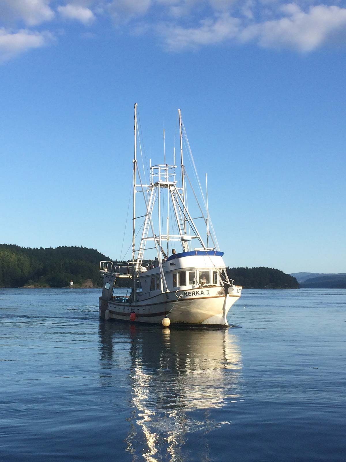 The Nerka fishing vessel